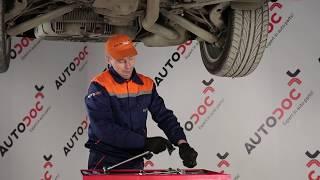 Sostituzione Asta puntone stabilizzatore BMW X3: manuale tecnico d'officina