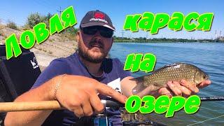 Ловля Карася на Фидер Летом. Фидерная Рыбалка На Озере.Фидерная Рыбалка 2020!