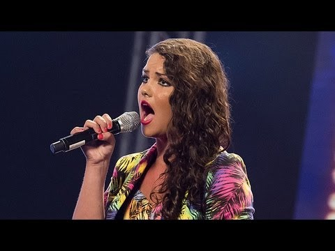 Sophie Stockle's audition - Jennifer Hudson's Love You I Do - The X Factor UK 2012