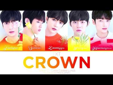 TXT (투모로우바이투게더) – CROWN Teaser 2 (Color Coded Lyrics Eng/Rom)