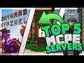 Top 5 Best MCPE Servers 2019 1.11.4+ / Minecraft PE (Pocket Edition, Xbox, Windows 10)