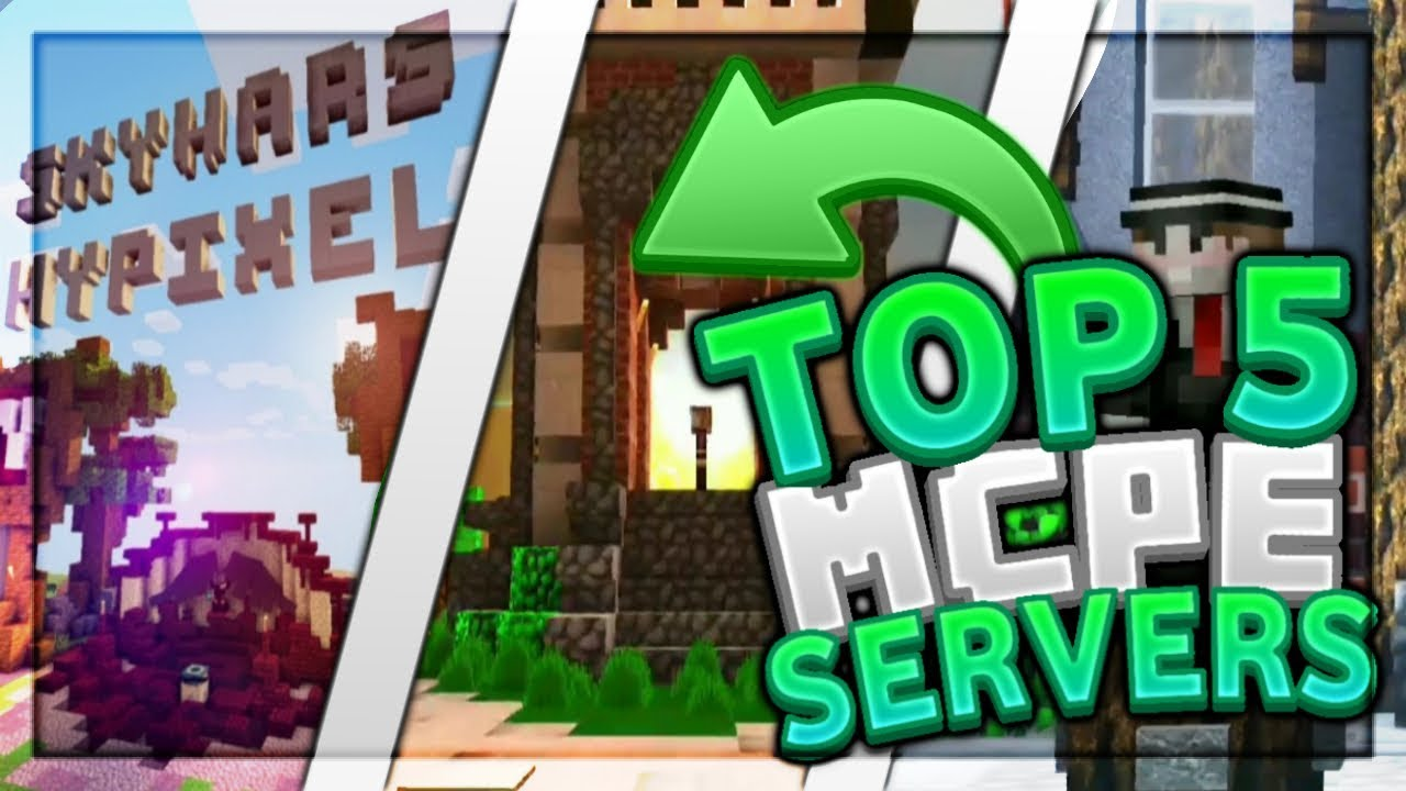 Top 5 Best MCPE Servers 2019 1 11 4+ / Minecraft PE (Pocket Edition, Xbox,  Windows 10)