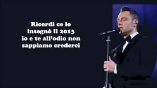 (Testo/Lyrics) Tiziano Ferro - Potremmo ritornare (cover di Laura Troilo)