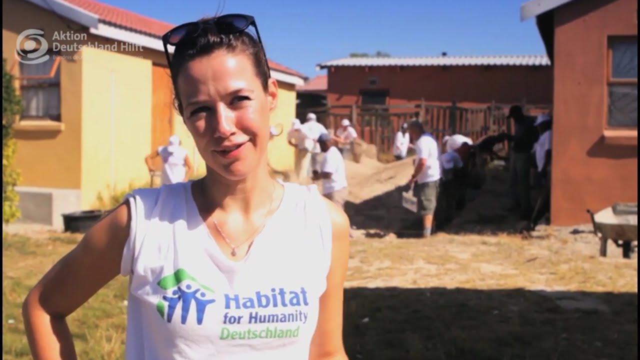 Alexandra neldel unterst tzt b ndnisorganisation habitat Habitat deutschland