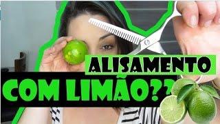 HIDRATAÇÃO/ALISAMENTO COM LIMÃO E LEITE DE COCO: Não corta, Recupera amiga!