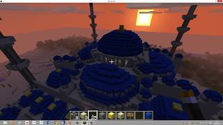 Blue Mosque Minecraft Building (Download link included)