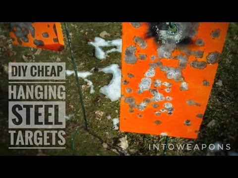 How To Make Steel Targets:  Cheap & Easy!