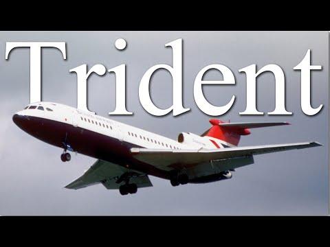 Hawker Siddeley Trident   Восход и закат могучего трезубца