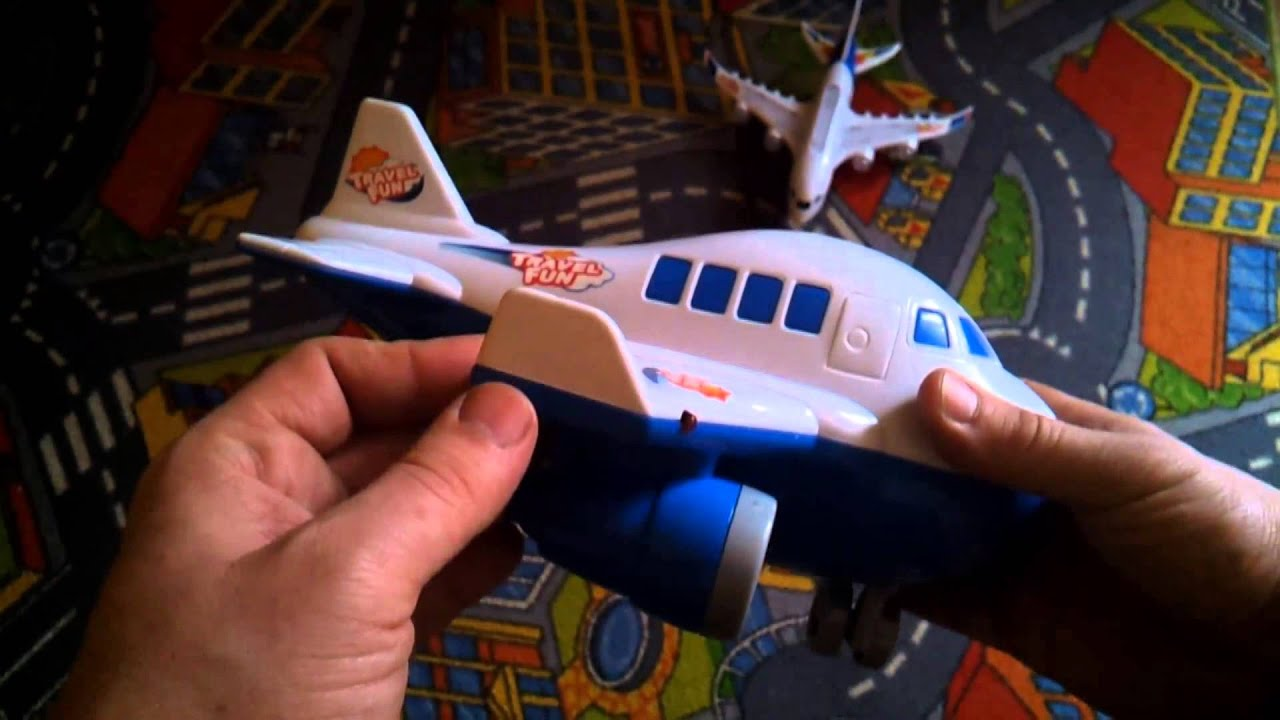 Toys Children playing airplane remote control TRAVEL FUN AIR LINE
