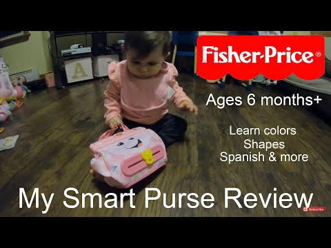 Fisher Price  My Smart Purse Review! Baby Toys