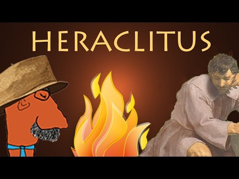 HERACLITUS, Fire and Change - History of Philosophy with Prof. Footy