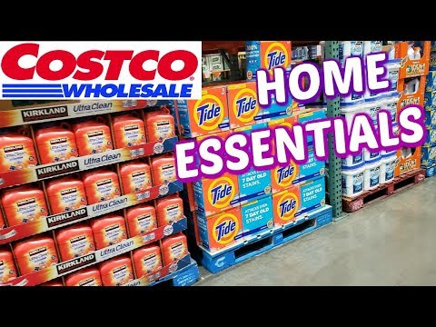 SHOP WITH ME * COSTCO HOME ESSENTIALS * 2019 thumbnail