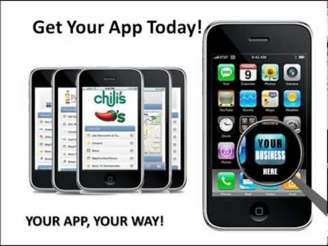 Local Marketing Designers Mobile Web App presentation