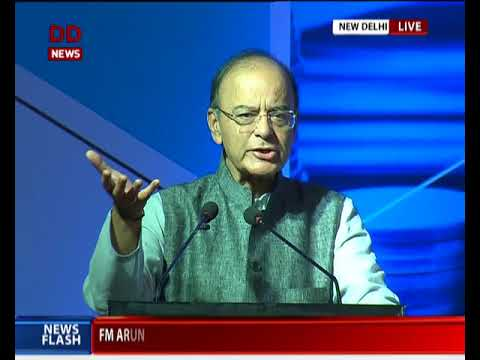 FM Arun Jaitley addresses conclave on Financial Inclusion
