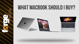 What Macbook Should You Buy in 2017? - Macbook VS Macbook Pro with/without Touch Bar (NEW)