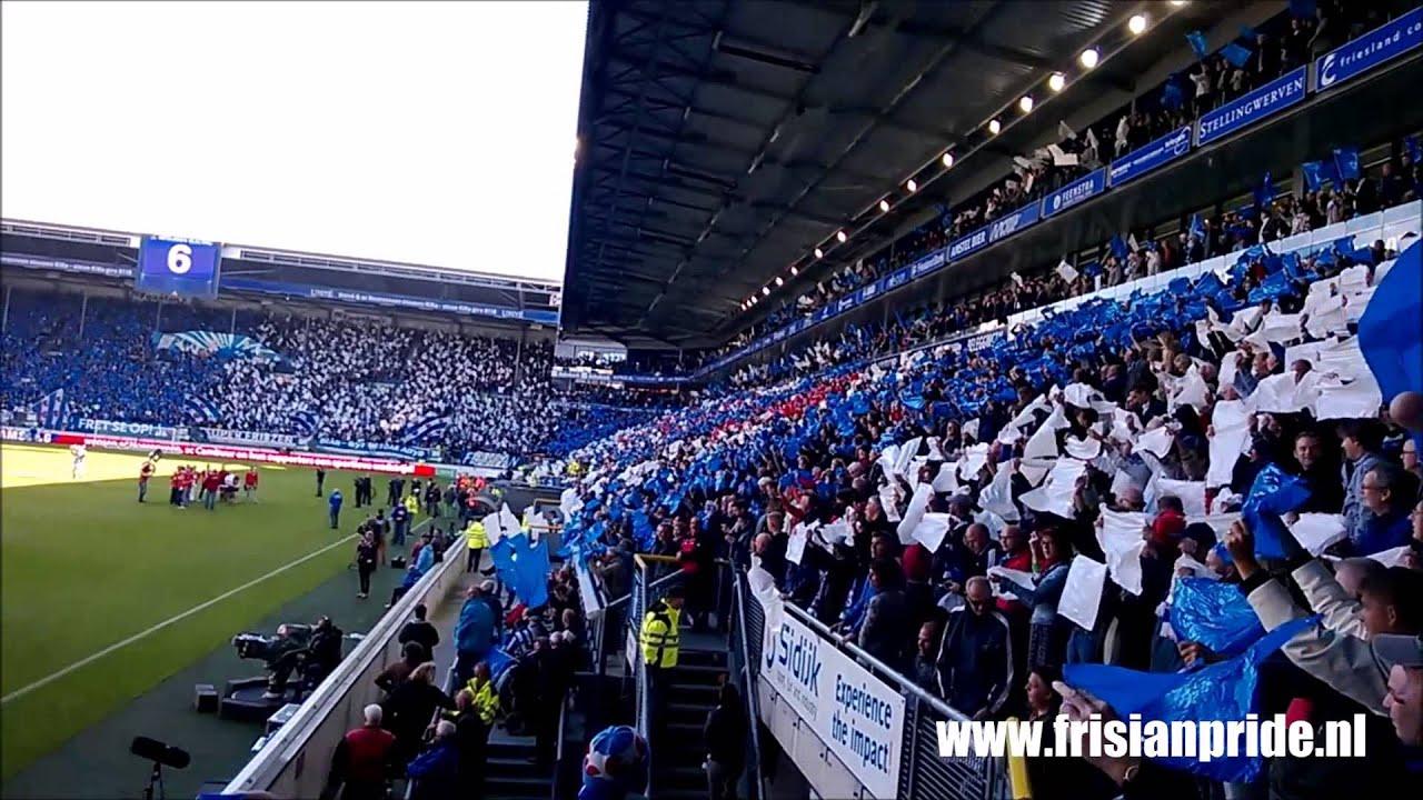 Hd Opkomst En Volkslied Friese Derby Sc Heerenveen Cambuur 29 09 2013