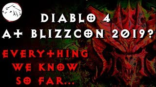 Diablo 4 At Blizzcon 2019 - Everything We Know - Diablo 2 Remastered, Diablo 3