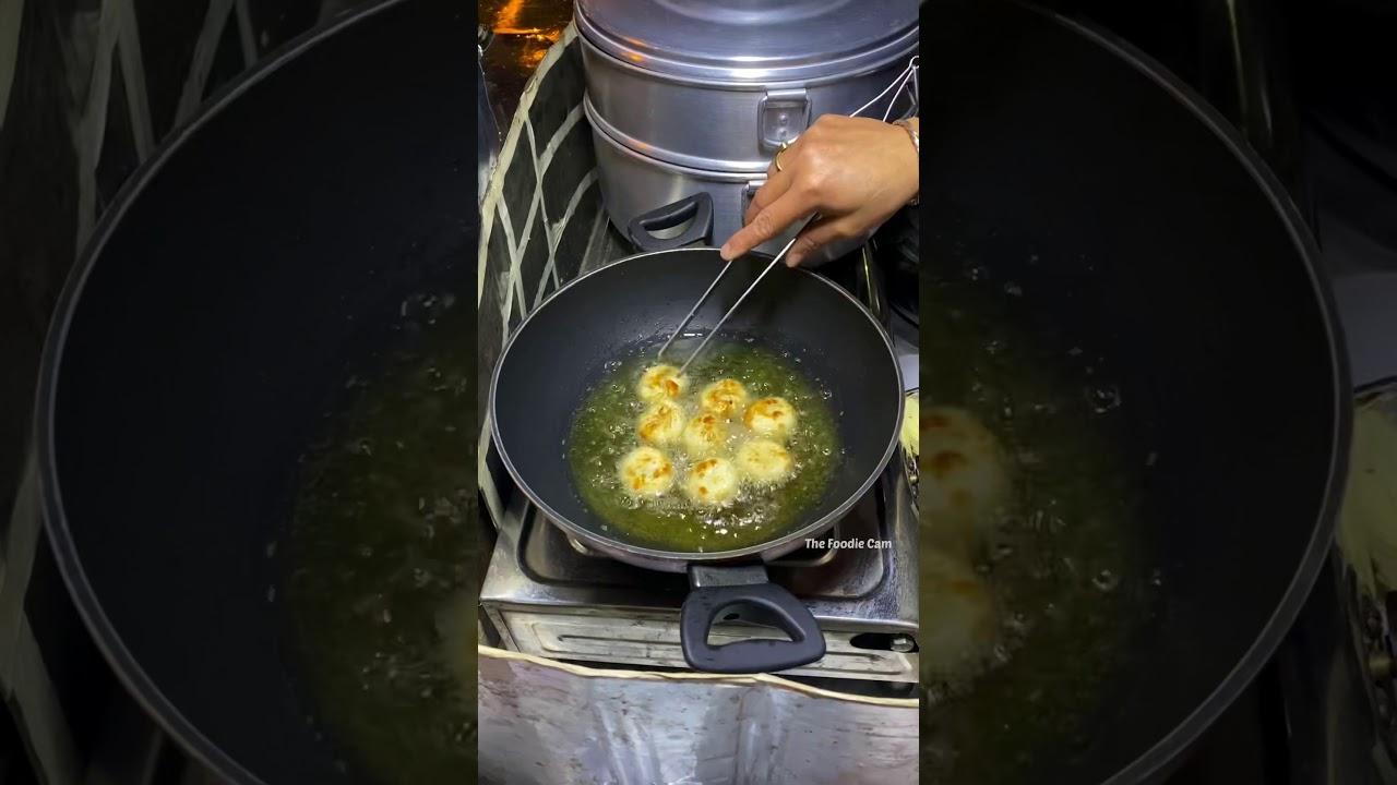 CHEESE FRIED MOMOS | INDIAN STREET FOOD | DELHI STREET FOOD