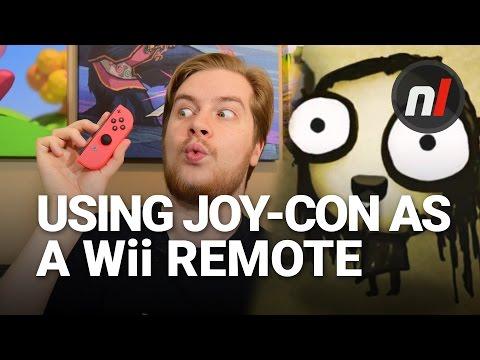 Using a Nintendo Switch Joy-Con Like a Wii Remote   Tomorrow Corporation on Nintendo Switch