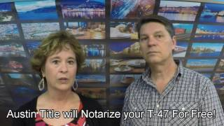 The T-47 Survey Affidavit Explained! ...and how it can save you money!