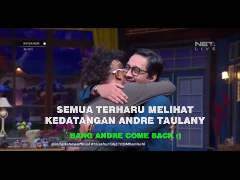 Moment Haru Andre Taulany Come Back Ini sahur 21 mei 2019