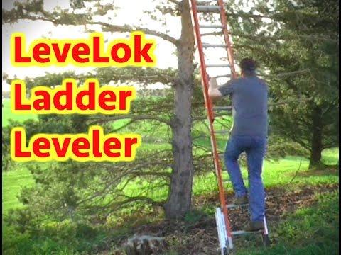 LeveLok Ladder Leveler and Stabilizer