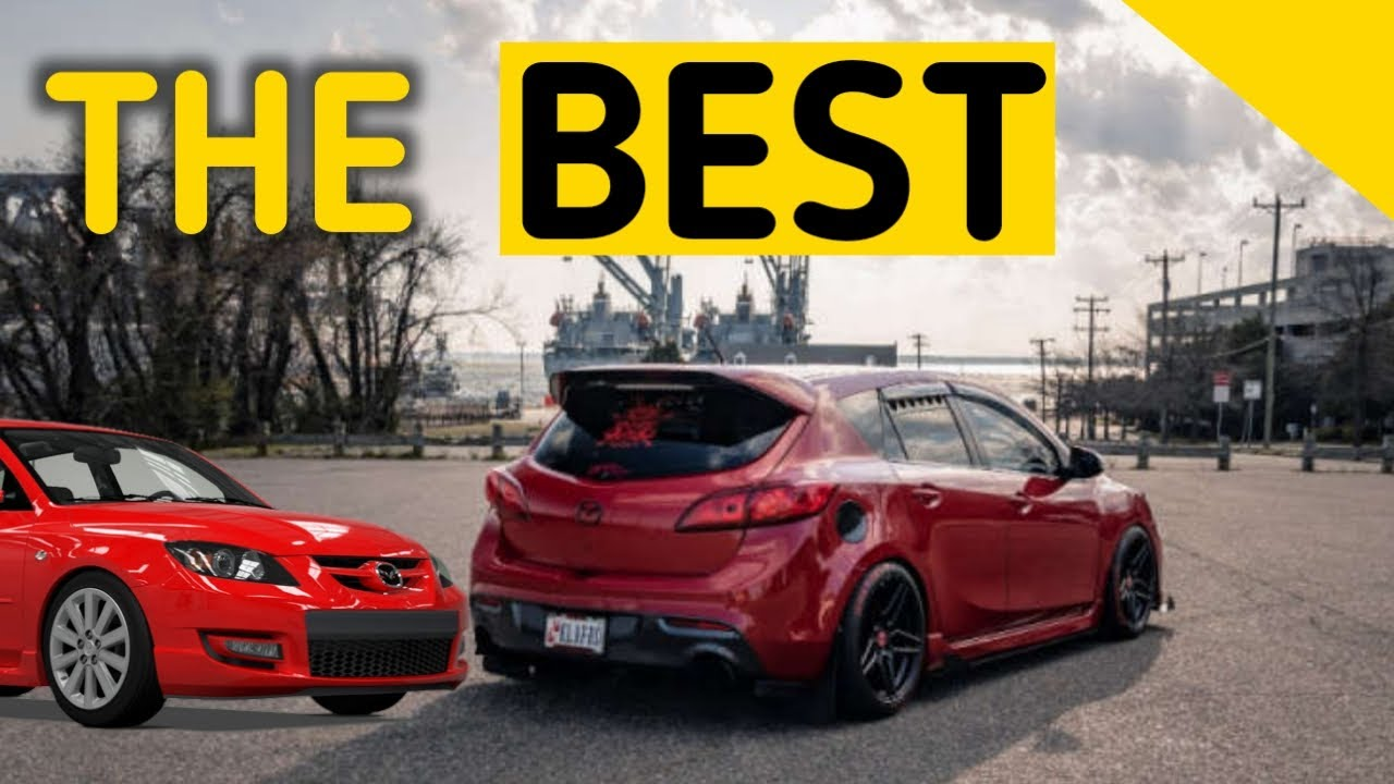 Why we LOVE THE MAZDASPEED 3 MPS