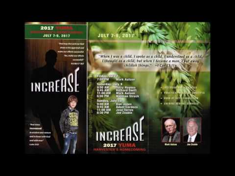Yuma Harvesters 2017 - Sunday PM - Pastor Joe Zeable