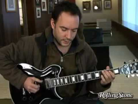 Dave Matthews Interview - Discusses His Guitar Playing Technique