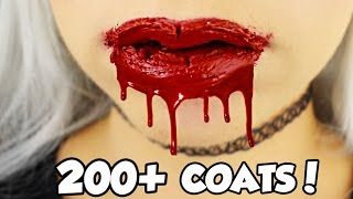 200+ coats! HOW MANY COATS ARE IN A KYLIE JENNER LIP KIT?! EP2 LIQUID LIPSTICK | NICOLE SKYES thumbnail