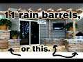 Rain Barrel Evolution - 10 years of DIY Rainwater Harvesting ideas