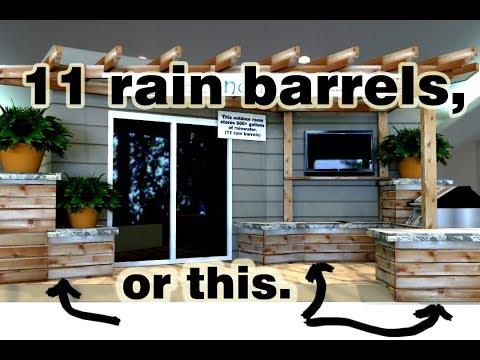 Rain Barrel Evolution - 10 years of DIY Rainwater Harvesting ideas