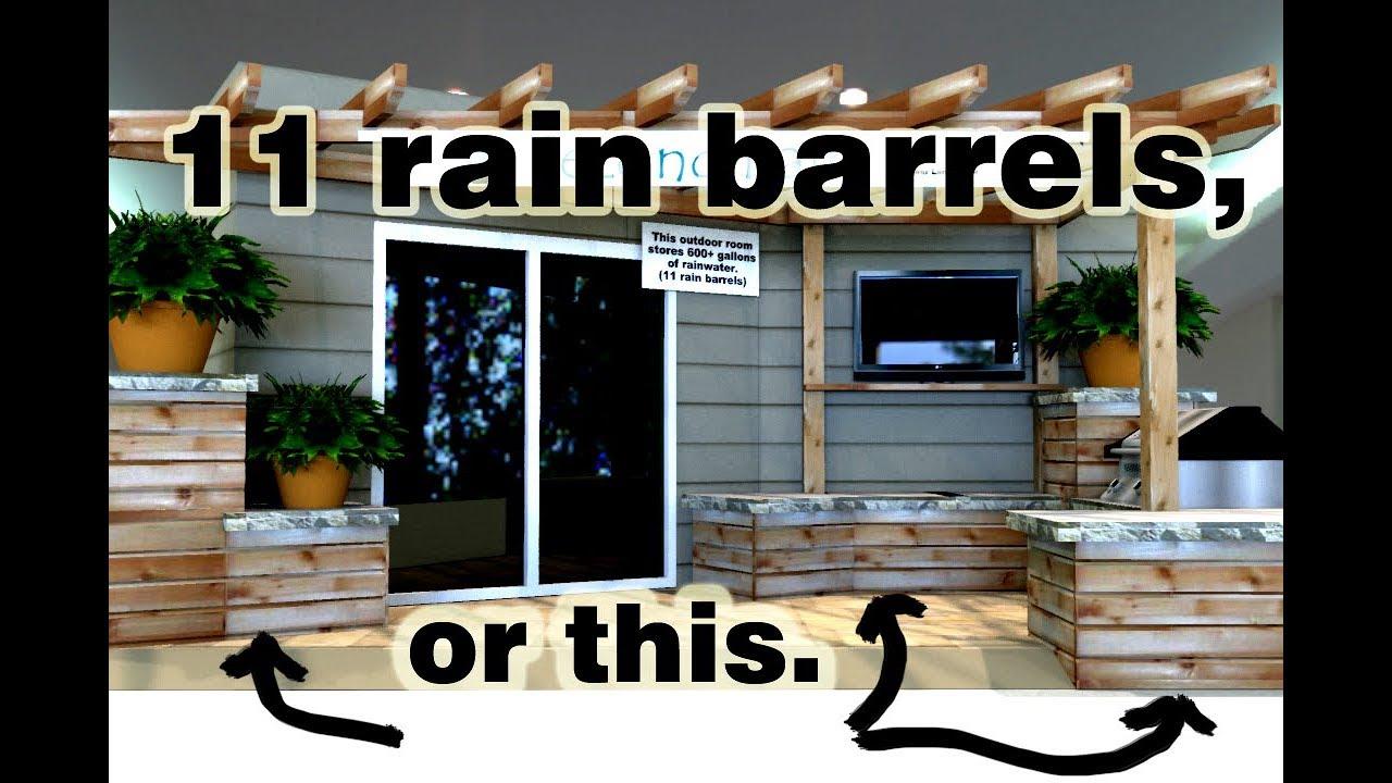 Rain Barrel Evolution 10 Years Of Diy Rainwater