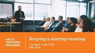 Accounting (Emu) / Keeping a startup running 13 04 2016