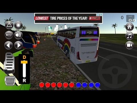 """IDBS Bus Simulator V 2,7 Android #KaryaAnakBangsa """" OM TELOLET OM """""""