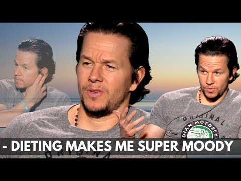 This is HOW MOODY Mark WAHLBERG gets when DIETING!!!