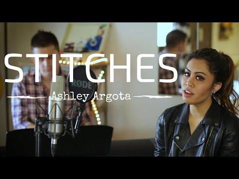 Stitches  Shawn Mendes Ashley Argota Cover