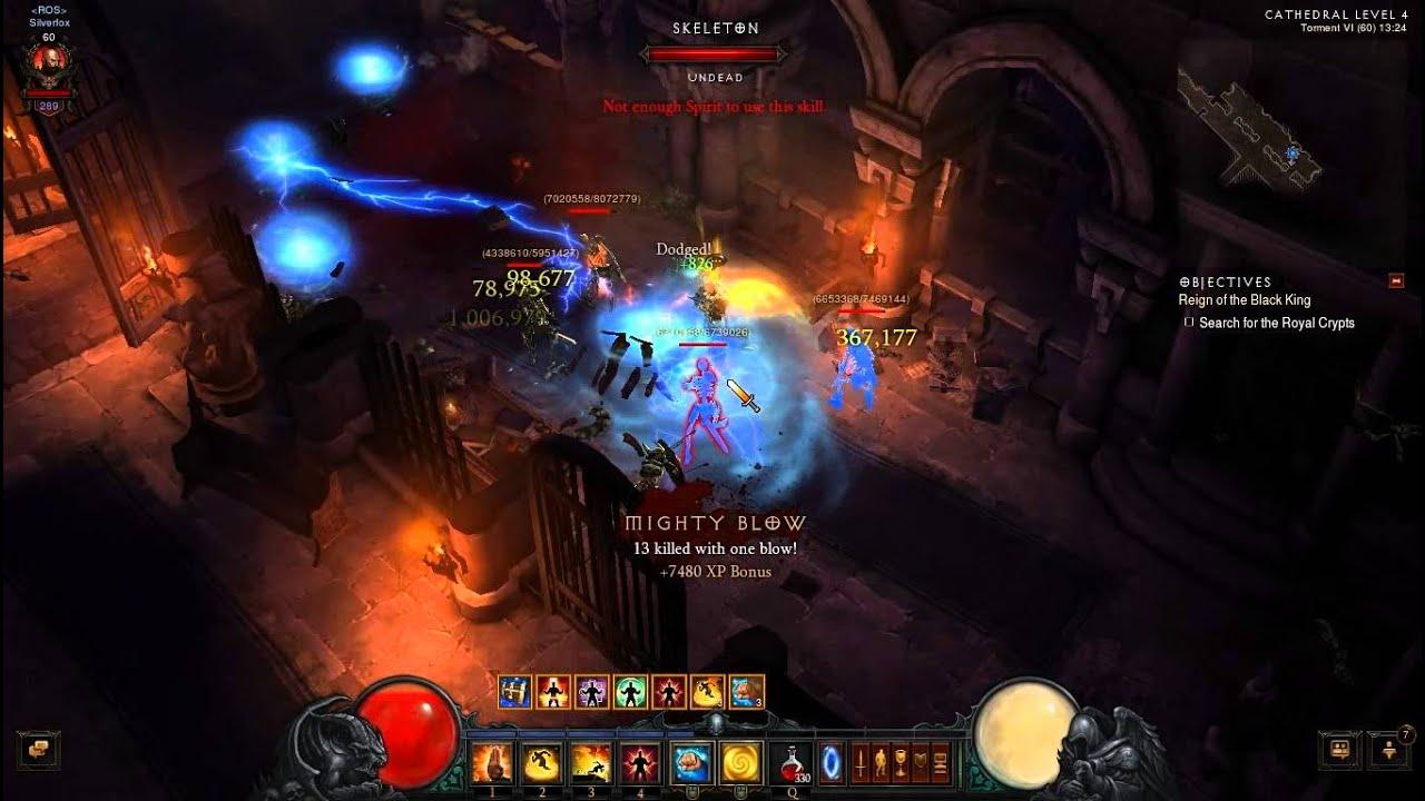 Download Diablo 3 Reaper Of Soul Monk Cathedral T6 Solo Run
