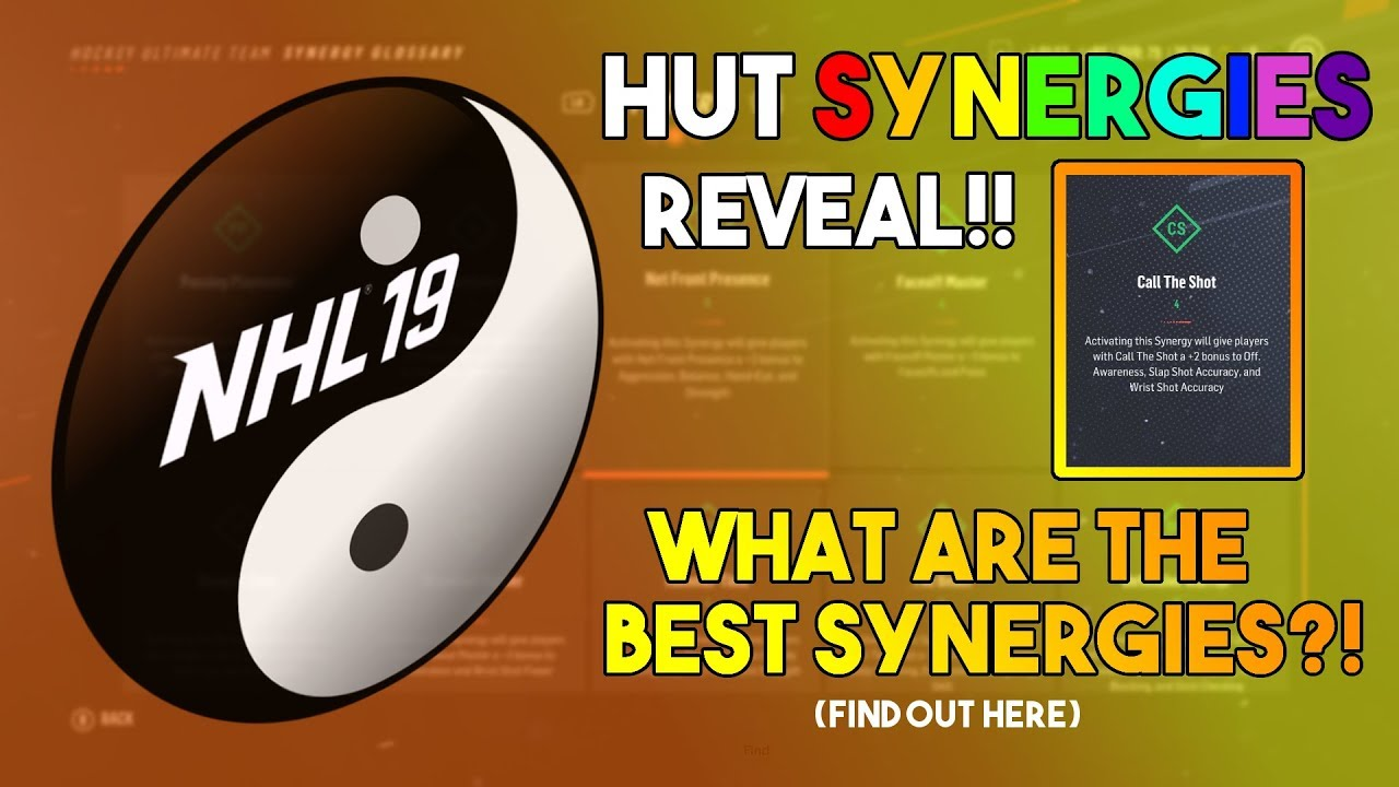 The BEST Synergies in NHL 19 HUT! The Guide to Synergies! - YouTube 48deaa98b