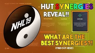The BEST Synergies in NHL 19 HUT! The Guide to Synergies!