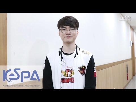 2017 LoL Champions Korea Spring - SKT Faker Interview (+ EN/CN Sub)