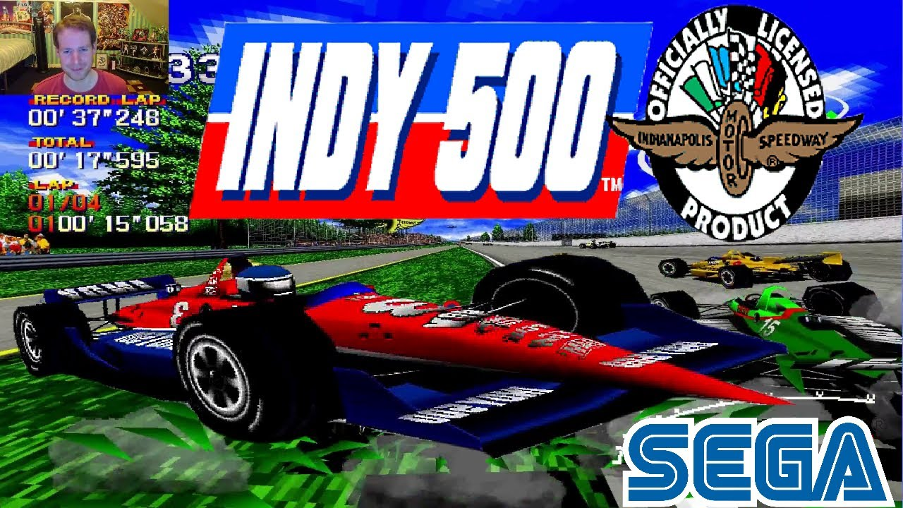 FAST PACED | Indy 500 Sega Arcade Game - YouTube