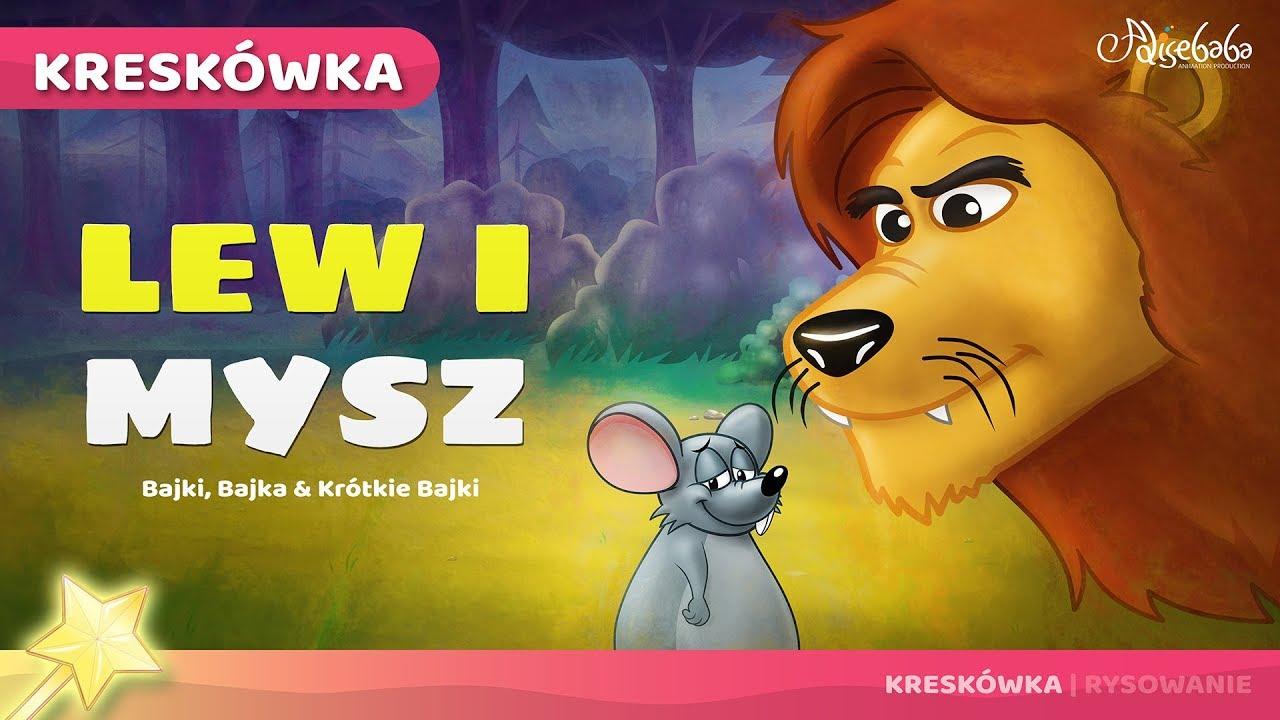 Lew I Mysz Bajki Po Polsku Bajka I Opowiadania Na Dobranoc Kreskówka