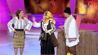 Laura Lavric, Valentina Fătu şi Vasile Muraru - Moment umoristic (@O dată-n viaţă)