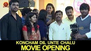 Koncham Dil Unte Chalu Movie Opening || 2017 Latest Telugu Movies