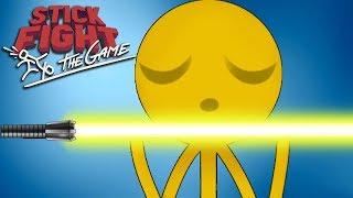 Stick Fight: The Game  Smesni Momenti - ULTIMATIVNI LIGHT SABER! (POVRATAK SILE) W/ CerixHD