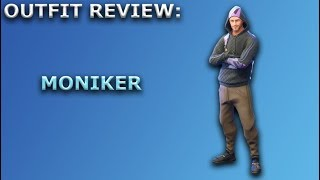 Moniker Outfit Review + Skin Showcase! ~ Fortnite Battle Royale