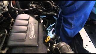 Замена катализатора на пламегаситель Opel Astra. Москва.