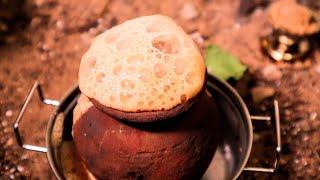 Tandoori Chai | Extremely Hot Pot Tea | Miniature cooking | Tandoori chai recipe | Street food