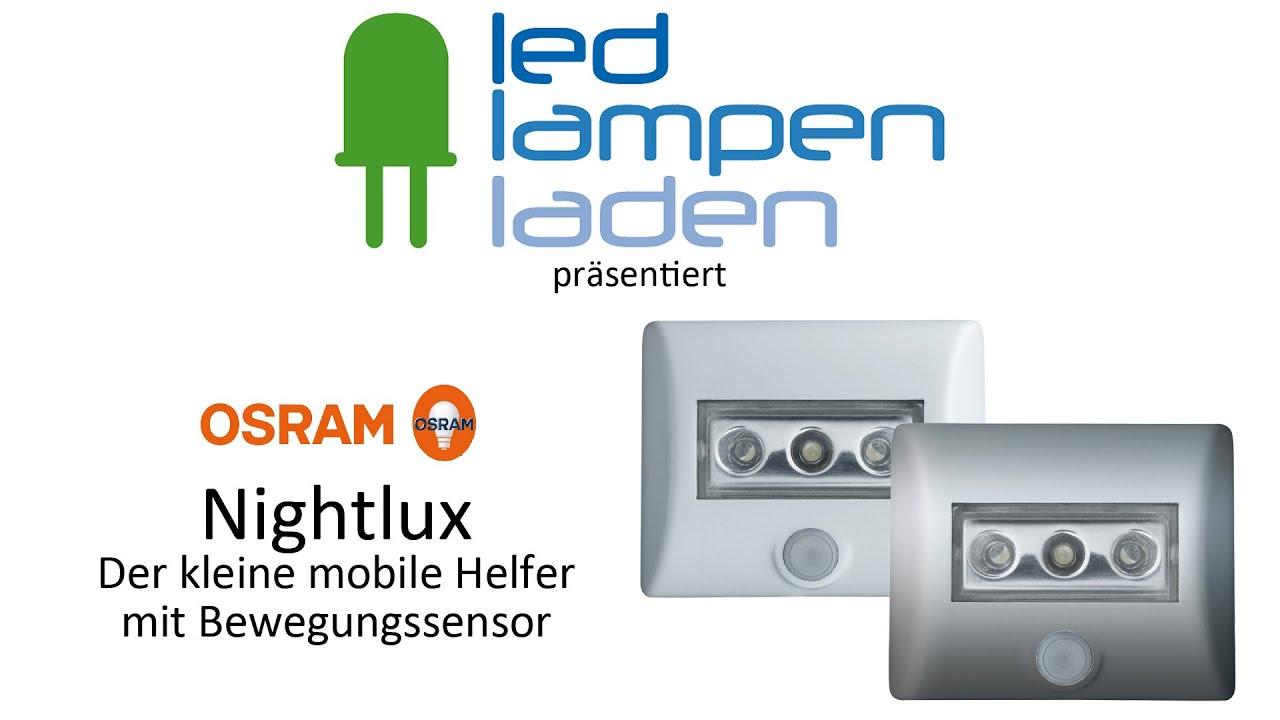 OSRAM LED Lampen | OSRAM Nightlux - Mobile Helfer | Ihr LED ...